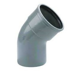 Bocht 30° Afvoer PVC Manchet