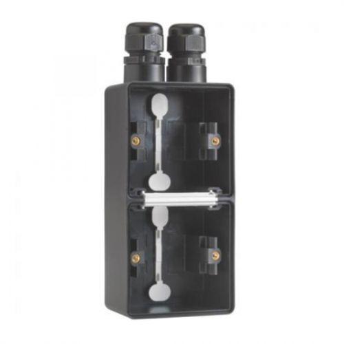 Niko Hydro - Onderbak 2-voudig Zwart (V)