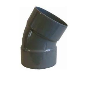 Bocht 22.5° Afvoer PVC Lijm