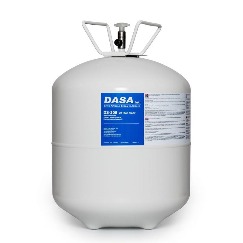 EPDM Contactlijm drukvat 22 liter -17 kg