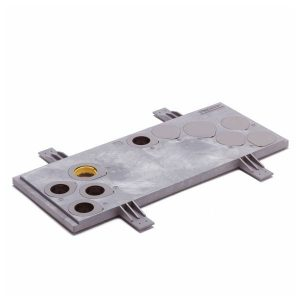 Meterkastvloerplaat grijs 3cm KOMO