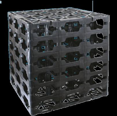 Infiltratiebox 600 x 600 x 600  aansluit