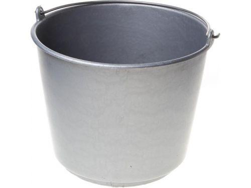 Emmer 12 liter grijs zware kwaliteit