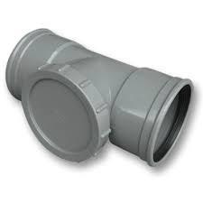 Ontstoppingsstuk Afvoer PVC Manchet