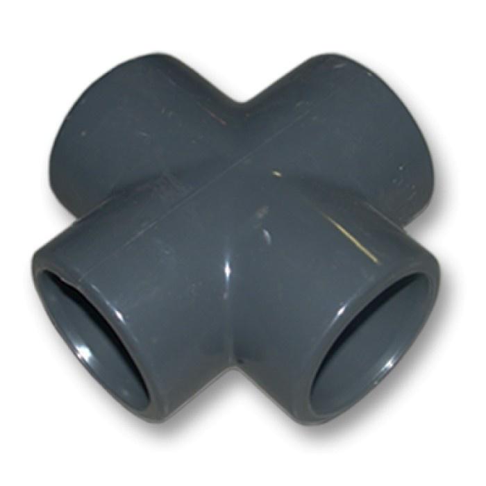 Kruisstuk Druk PVC